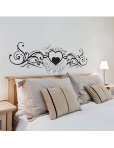 Sticker tête de lit personnalisé