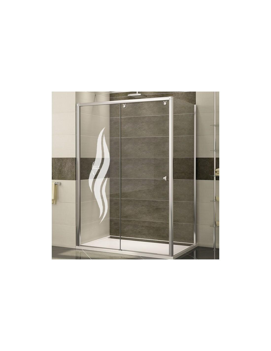Paroi de douche pas cher stunning sticker porte jardin - Paroi de douche pas cher ...