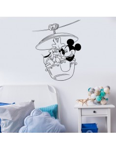 Sticker Mickey et Pluto