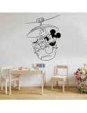 Sticker Mickey et Pluto