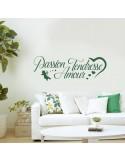 Sticker citation passion tendresse amour