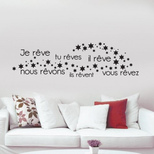 stickers je rêves, tu rêves
