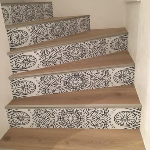 stickers d escalier déco orientale Stickers contremarche