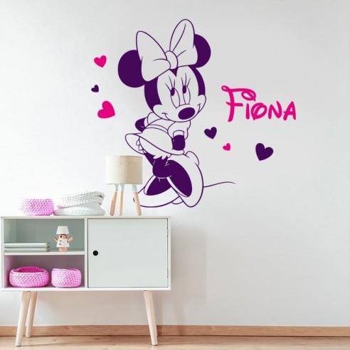 Sticker Minnie personnalisé