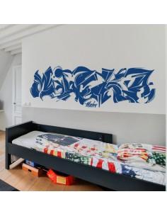 Sticker graffiti personnalisé