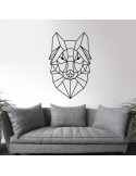 Sticker hibou design polygone