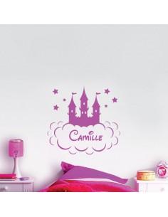 Château Disney prénom personnalisé