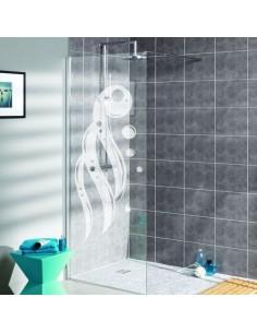 Sticker paroi de douche