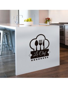 Sticker cuisine le chef