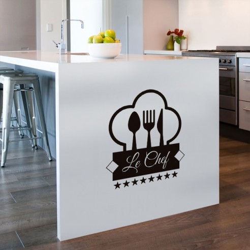 stickers cuisine originaux interesting idee de decoration de chambre with stickers cuisine. Black Bedroom Furniture Sets. Home Design Ideas