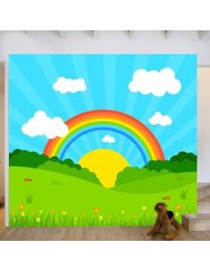 Sticker fresque murale enfant