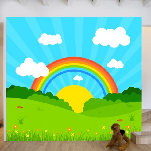 Sticker fresque murale enfant