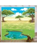 Sticker fresque murale déco paysage