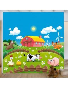 Sticker décor ferme et animaux