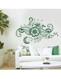 Sticker motif floral