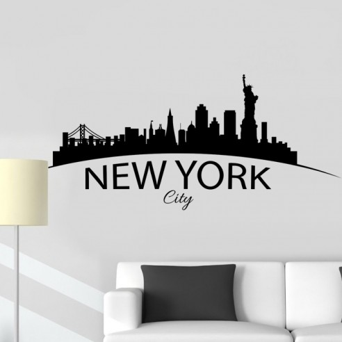 Stickers déco New York NY