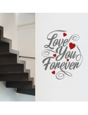 Sticker love you for ever