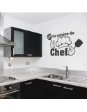 Sticker La cuisine du chef