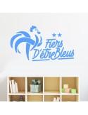 Sticker fiers d'être bleus - équipe de france