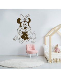 Sticker fille Minnie