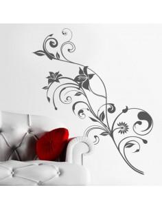 Sticker décoration florale