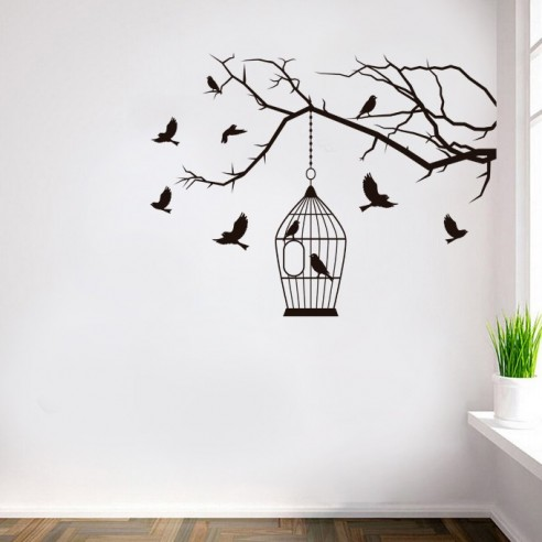 Decoration Dessin Mural