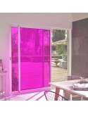 Film adhésif rose ultra transparent