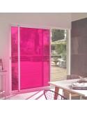 Film adhésif framboise ultra transparent