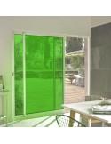 Film adhésif vert tilleul ultra transparent