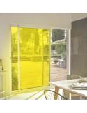 Film adhésif jaune ultra transparent
