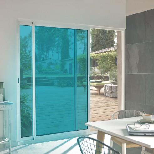 Film adhésif turquoise ultra transparent