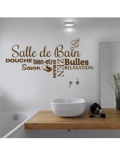 Sticker déco salle de bain