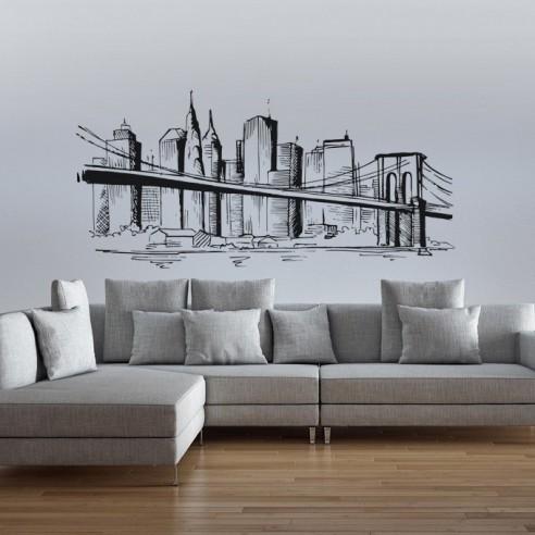 Sticker New Yok City