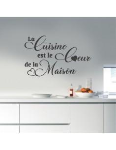 Sticker la cuisine est le coeur de la maison