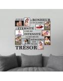 Sticker cadres photos un instant de bonheur