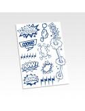 Stickers cookeo comics