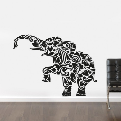 sticker déco Elephant