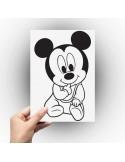 Sticker bébé Mickey