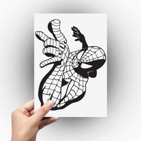 Sticker Spiderman