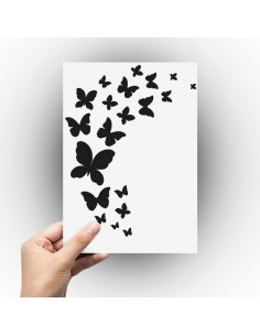 Sticker envole de papillon