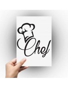 Sticker cuisine chef