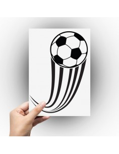 Sticker ballon de foot