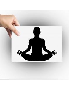 Sticker zen meditation