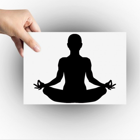 Sticker zen meditation