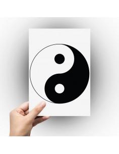 Sticker Ying et Yang