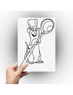 Sticker ratatouille
