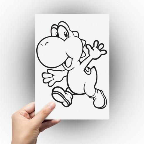 Sticker Yoshi