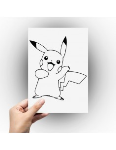 Sticker pikachu