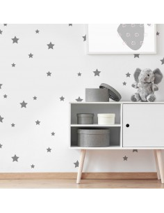 Kit 145 stickers étoiles