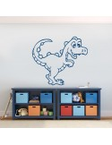 Sticker drole de dinosaure